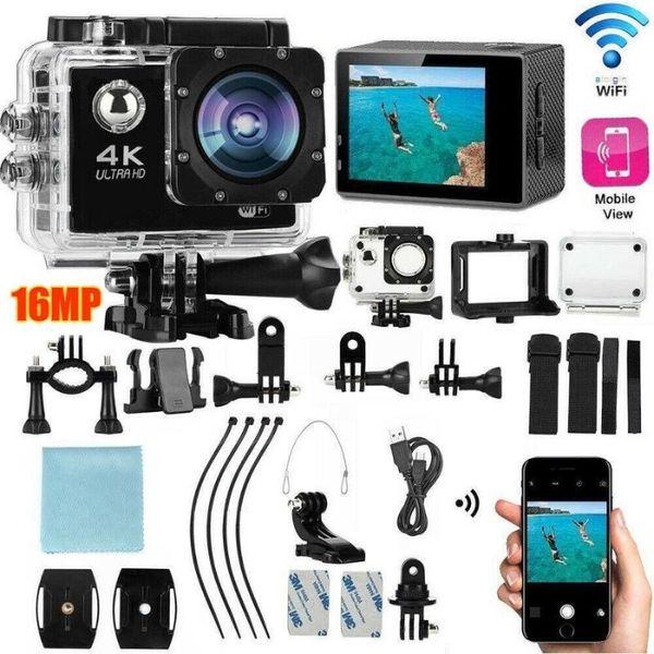 Истинска WiFi FullHD Action Camera водоустойчива камера тип GoPro гр. Пловдив - image 1