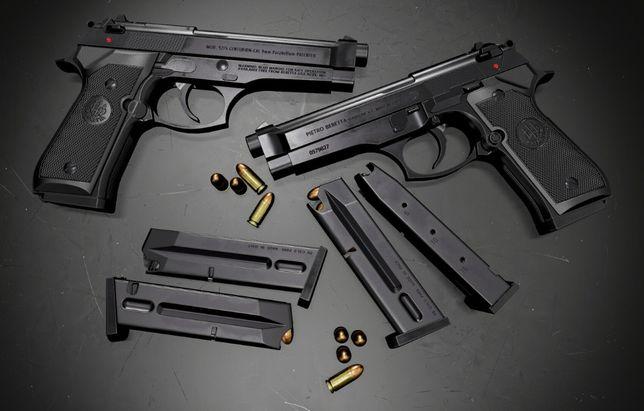-PUTERE MARITA-DUBLU-FORTA-Model Beretta M9 SWAT Metal Co2 Gaz Airsoft