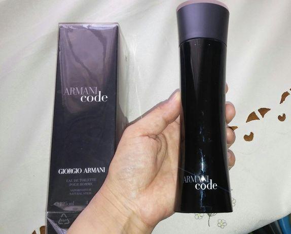 Новый Armani code 125 ml мужская туалетная вода духи парфюм