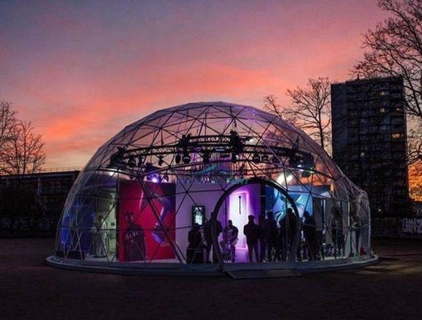 Cort igloo, evenimente, 28 mp,showroom,terasa,transparent,oferta!