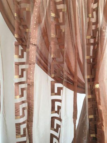 Луксозни двойни пердета внос от Гърция- №152