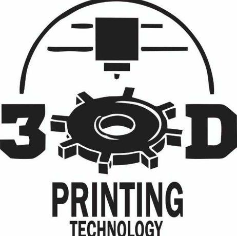 3D Печать, Изготовление любых деталей из пластика