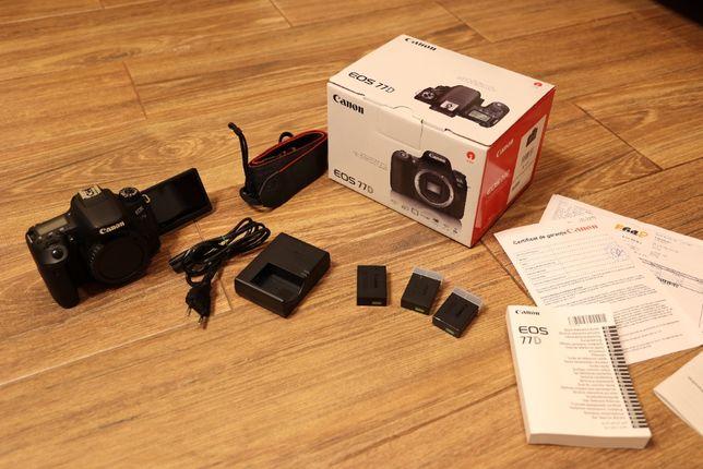 Aparat foto DSLR Canon EOS 77D (doar body)