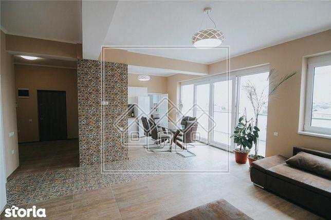 Ap. de tip penthouse, mobilat si utilat, Zona Lazaret