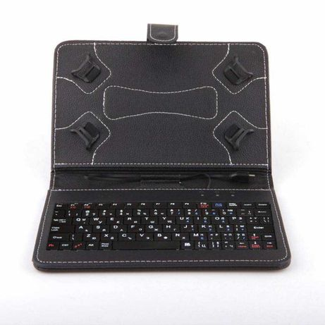 Качествен Калъф с клавиатура за Таблет 7-8 Инча