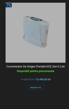 Zen-O lite™ este noul concentrator portabil de oxigen ultra-usor de la