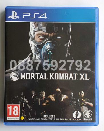 Перфектен диск с играта Mortal Kombat XL PS4 Playstation 4 Плейстейшън