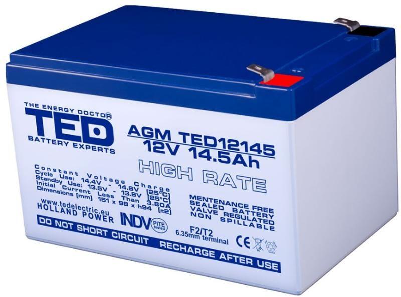 acumulator ups 12V 14.5AH acumulator 12V 14.5AH ups baterie 12V 14.5A Bucuresti - imagine 1