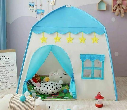 Палатки домики для девочек и мальчиков