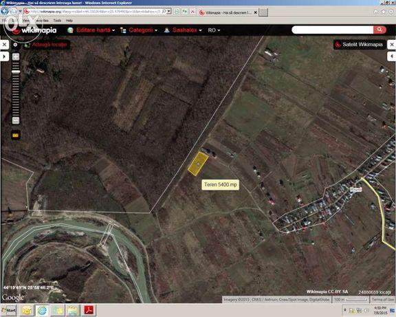 Magurele, Ilfov - 5400 mp vis-a-vis de padurea Cornetu