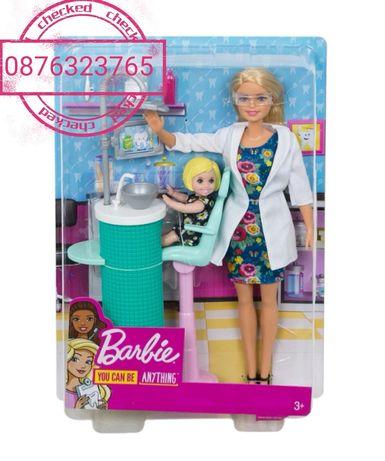 Кукла Барби Barbie зъболекар с аксесоари