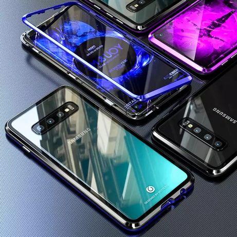Магнитен Кейс за Samsung Galaxy S10 S10e S20 Note 8 9 10+ S8 S9 A51