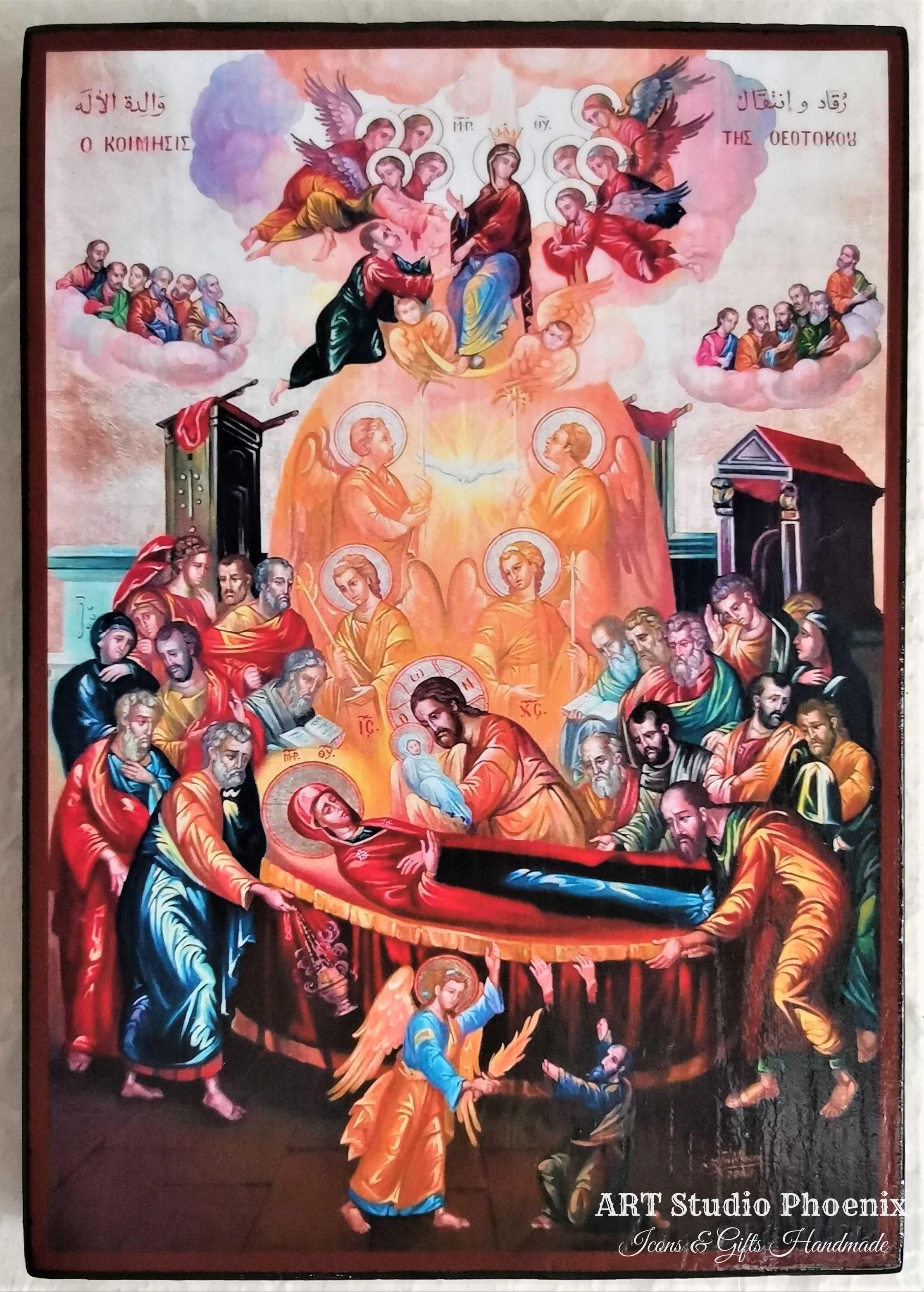 Икона Успение Богородично ikona uspenie bogorodichno