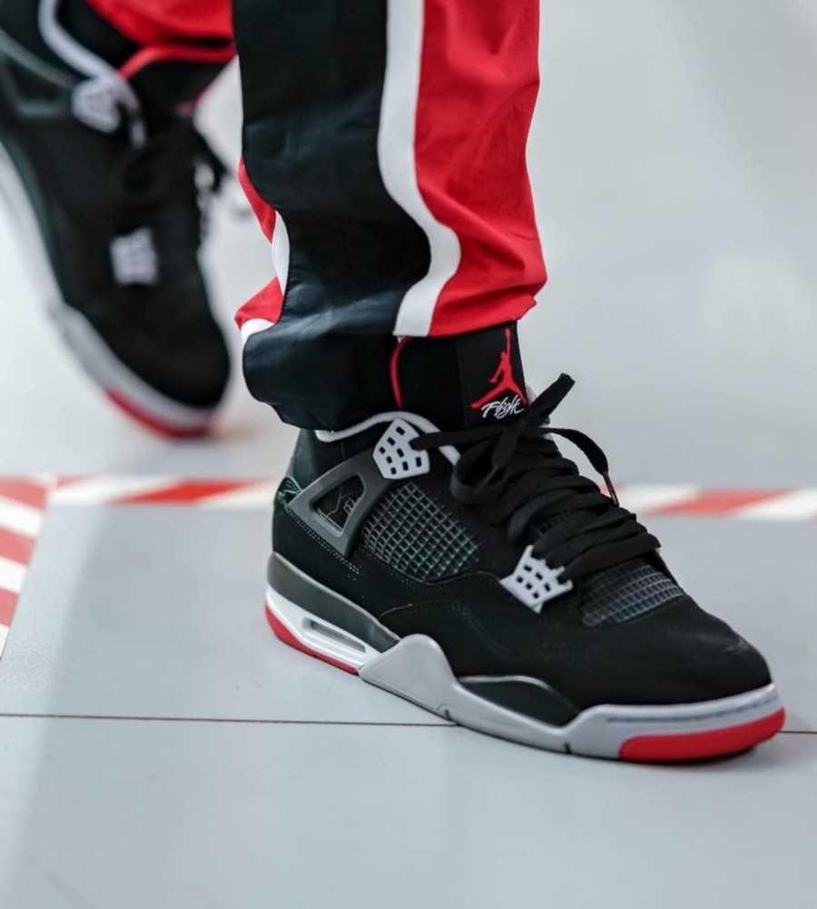 Nike Jordan Retro 4 Bred Brand New Man
