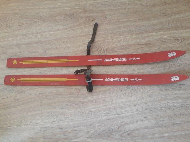 Продам лыжи детские