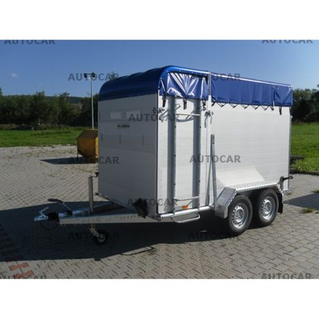 Remorca transport animale 305x170x200 2500kg C.I.V inclus