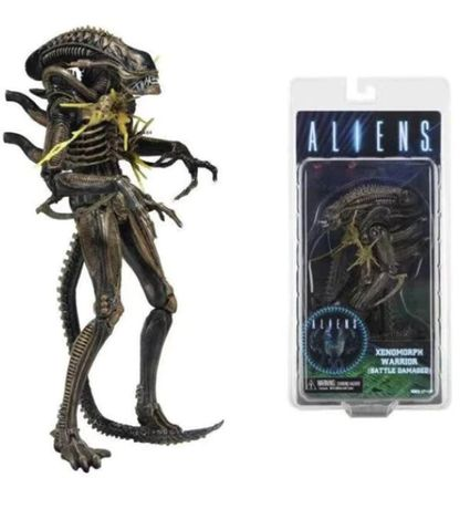 Figurina Alien Xenomorph 18 cm NECA battle damage chest