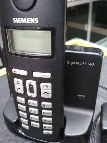 телефони 2 броя безжичен сименс и панасоник