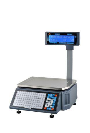 весы с печатью этикеток rongta rls 1100