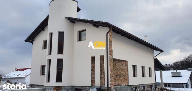 Casa D+P+1E, semifinisata, 635 mp teren, langa padure