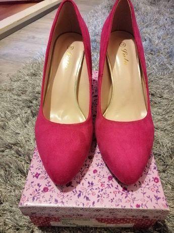 Pantofi noi roz fucsia