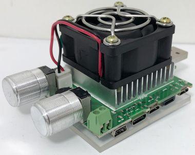 Tester multifunctional USB, TFT 1.1'', 1-25V/0.10-4.5A c.c.