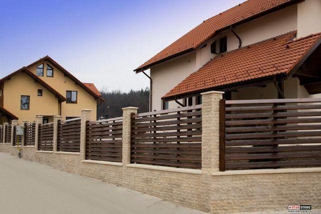 Gard lemn - diferite modele