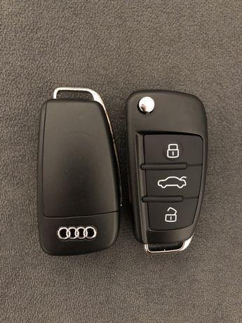 Carcasa Cheie Key Audi 3 butoane premium A2 A3 A4 A6 A6L A8 Q7 TT B7