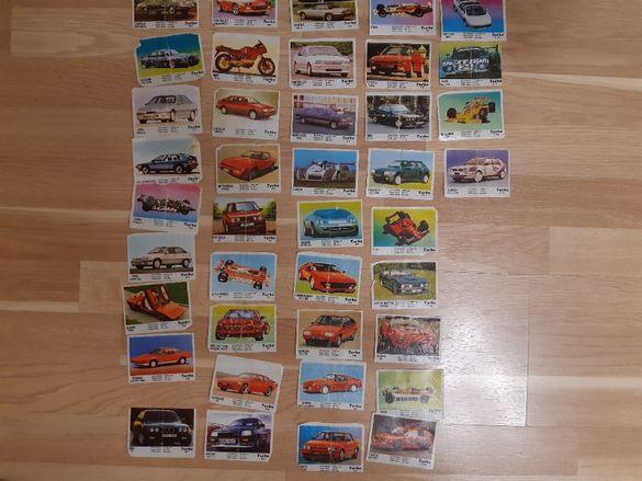 Продавам картинки от дъвки Турбо и Бомбибом.
