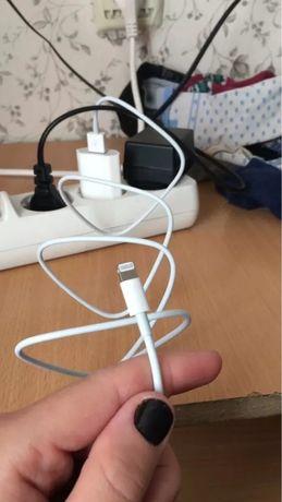 два оригинални кабела за айфон iphone apple