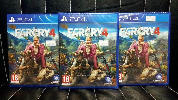 Чисто нова запечатана игра FAR CRY 4 за PS4