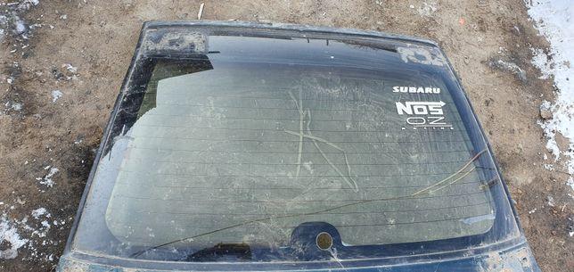Дверь багажника, заднее стекло subaru impreza gf
