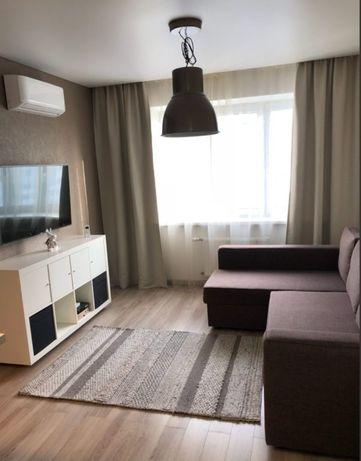 Сдается 2х комнатная чистая квартира посуточно на левом берегу