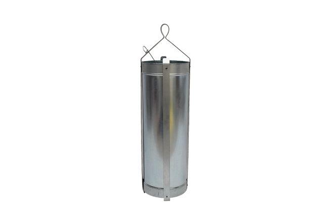 Galeata put groasa tabla zincata, diametru 160x500 mm, 10 litri