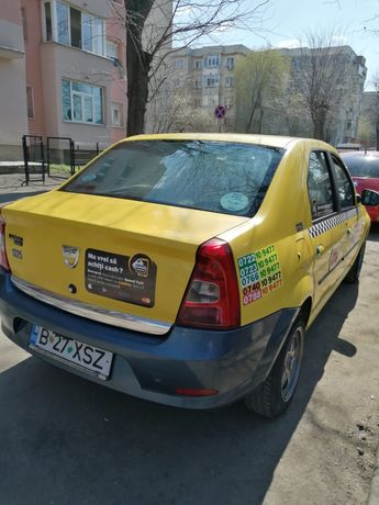 Vand/schimb taxi Dacia Logan 2010.11