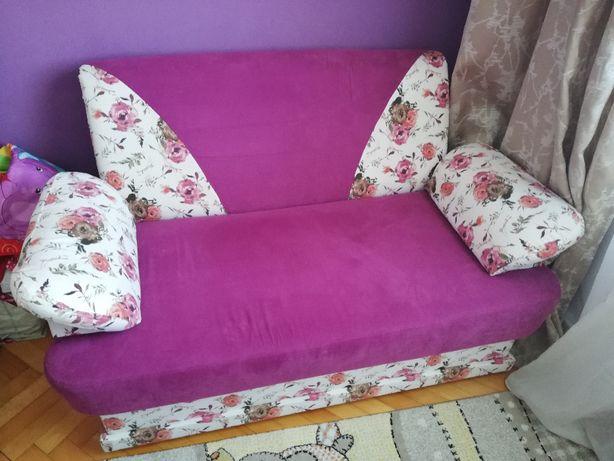 Canapea extensibila cu lada depozitare - camera copil