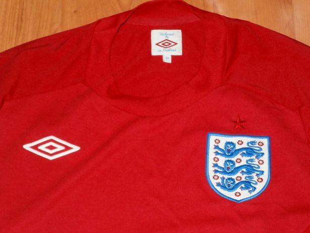 Tricou oficial nationala de fotbal Anglia , marca Umbro , original
