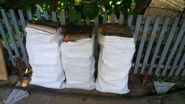 Продам дрова в мешках