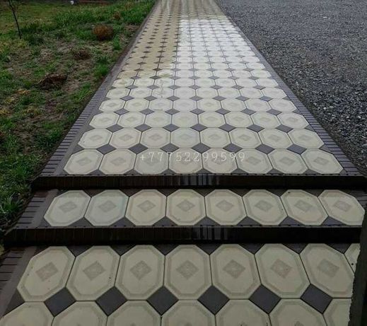 Брусчатка Алея, Маракеш, Бабочка, Амстердам. Тротуарная плитка.