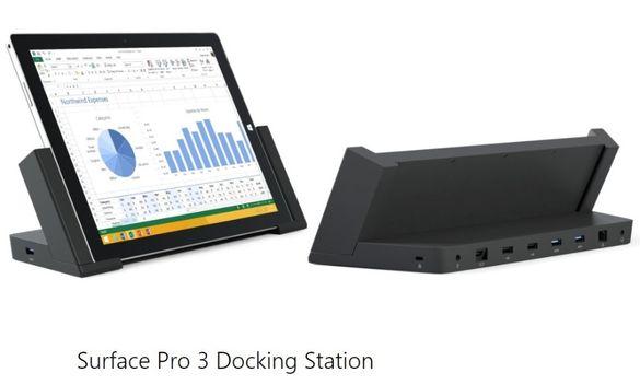 Microsoft Surface Pro 3 Docking Station 1664, докинг станция + Гаранци