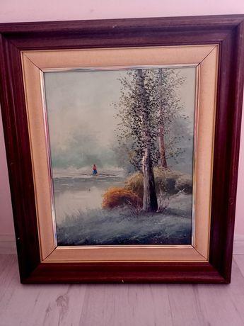 Картина рисувана с маслени бои-ш.-51,д.-60