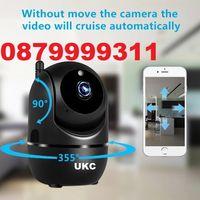 Топ модел Smart camera 1080p, Full HD IP - Wifi Смарт камера Бебефон