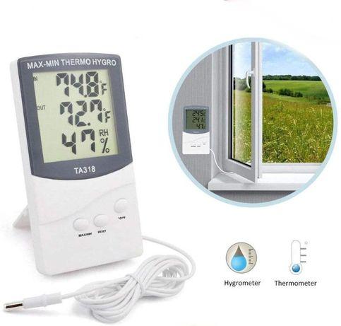 Термометър и влагометър за външна и вътрешна температура