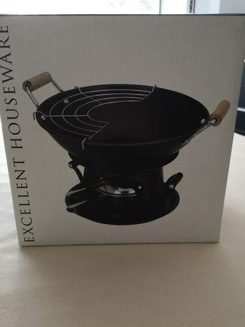 Wok cu arzator Excellent Houseware