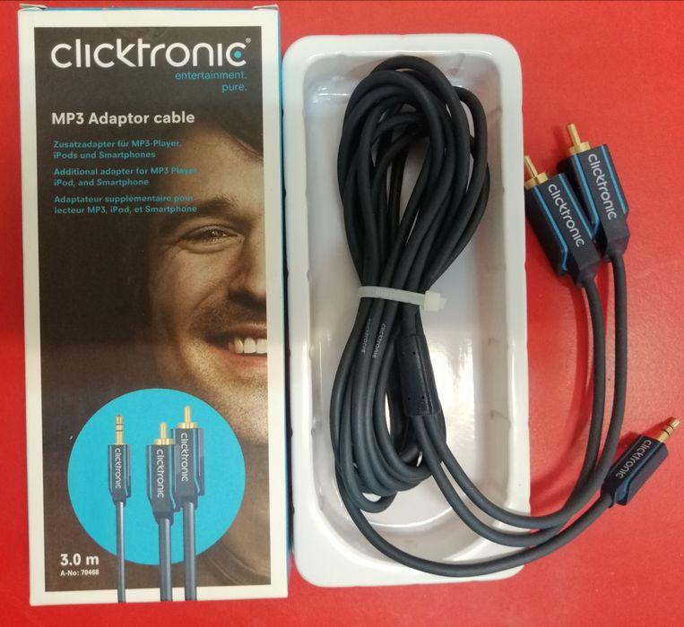 Cablu Clicktronic 2xrca Jack 3m Bucuresti - imagine 1