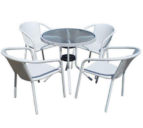 Ратанови маси и столове за градина - бял, кафяв ,сив ратан