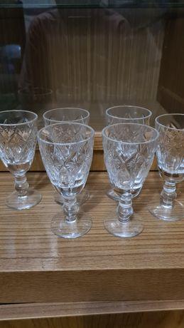 Советские граненые стаканы