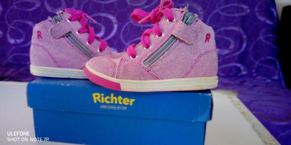 Супер намаление! Естествена кожа обувки Richter