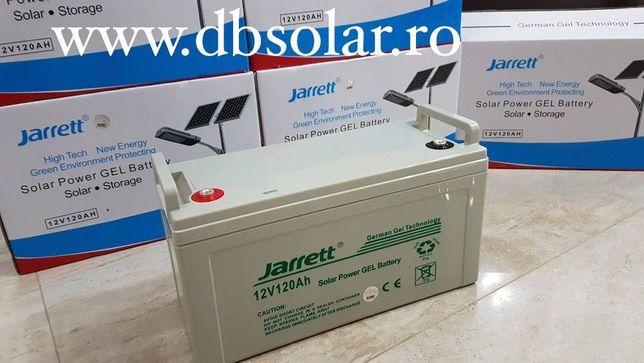 Acumulator Baterie Solara JARRETT GEL AGM 120 Ah 12V NOU ‼️