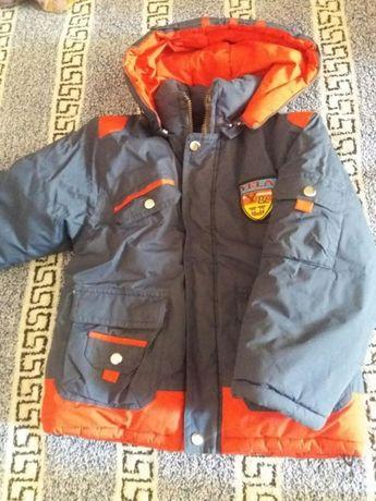 Куртка зимняя для мальчика, 6-8 лет